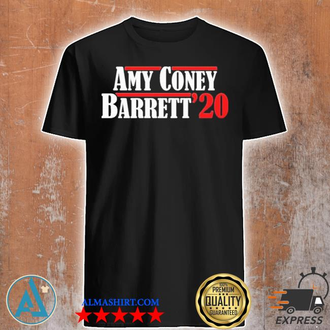 Amy coney barrett justice acb for 2020 president shirt