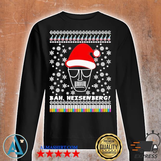 Bah heisenberg humbug walter ugly christmas s Unisex sweatshirt