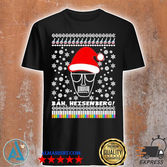 Bah heisenberg humbug walter ugly christmas shirt