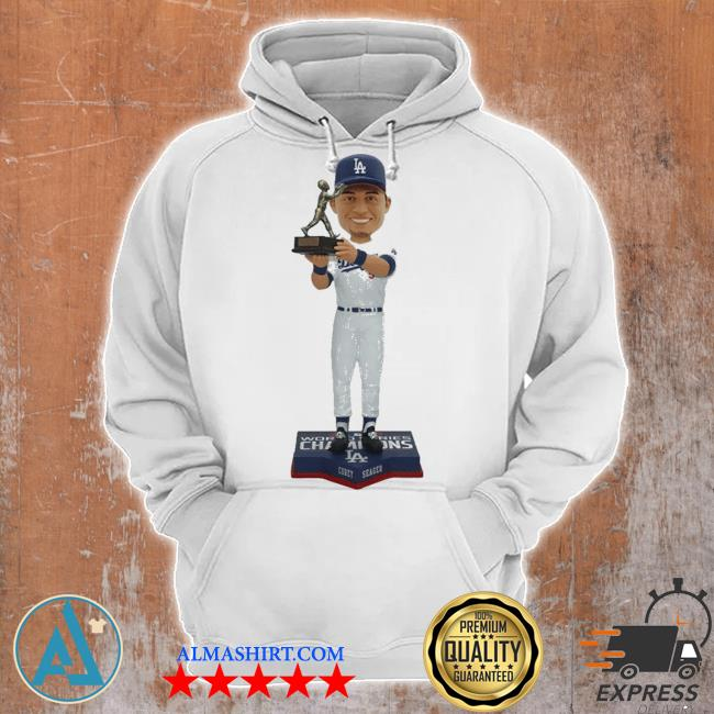 Corey seager for los angeles dodgers 2020 world series champions mvp s Unisex Hoodie