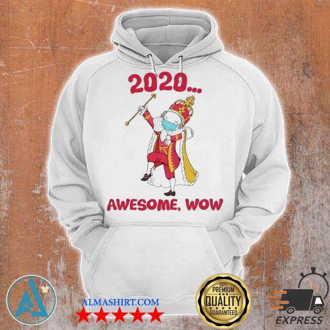 Hamilton george king 2020 awesome wow quarantine christmas s Unisex Hoodie