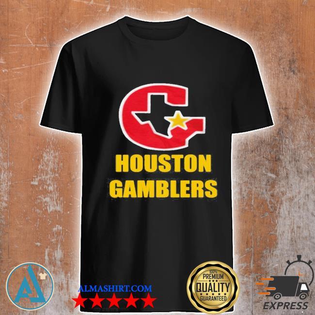 Houston gamblers 2020 shirt