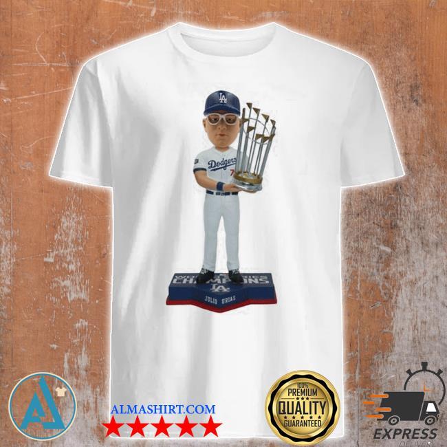 Julio Urias los angeles dodgers 2020 world series champions shirt