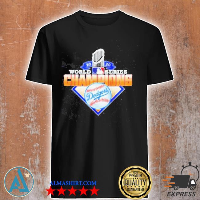 Los angeles dodgers 2020 world series champions league mlb dodgers shirt