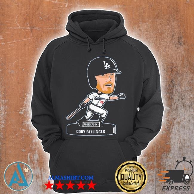 Los angeles dodgers cody bellinger 2020 postseason s Unisex Hoodie