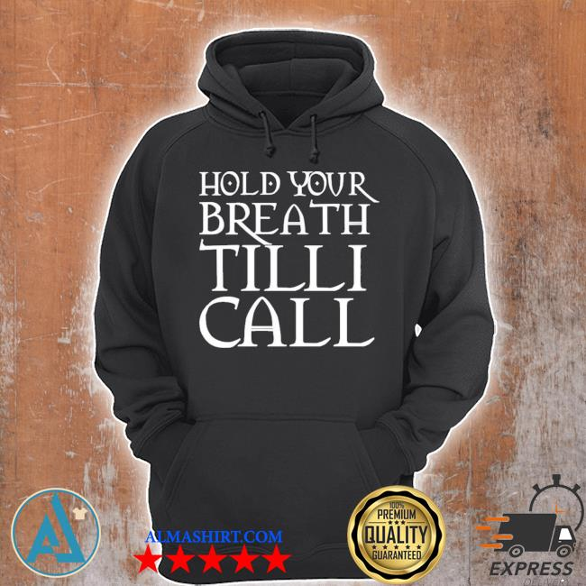 Nightmare on film street merch hold your breath till I call s Unisex Hoodie
