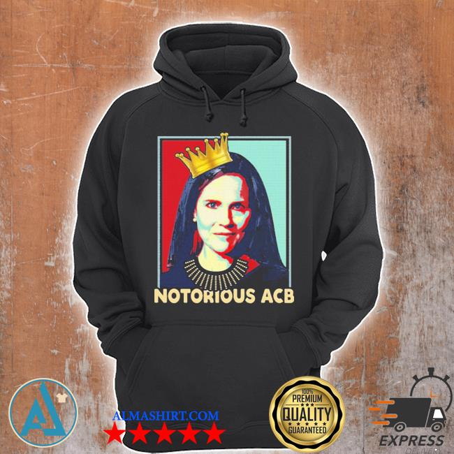 Notorious acb amy coney barrett hope s Unisex Hoodie