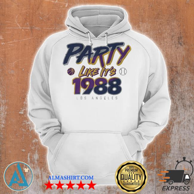 Party like it's 1988 los angeles s Unisex Hoodie