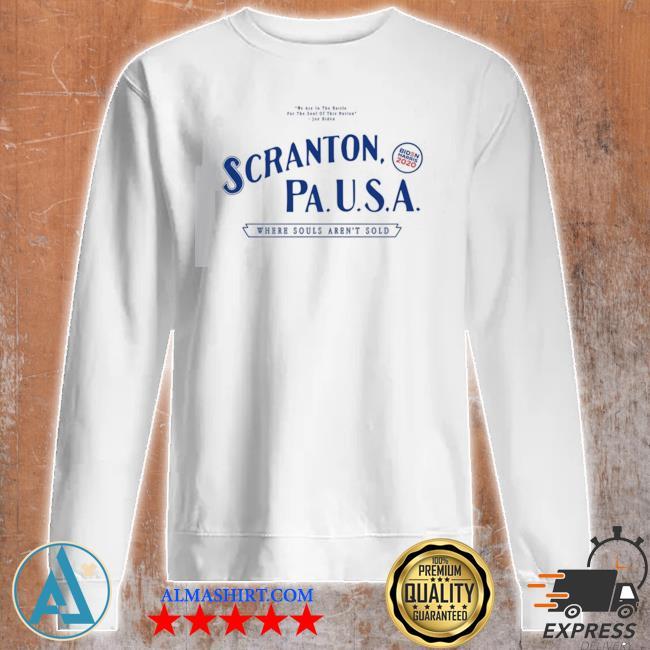 Scranton electric city marni senofonte s Unisex sweatshirt