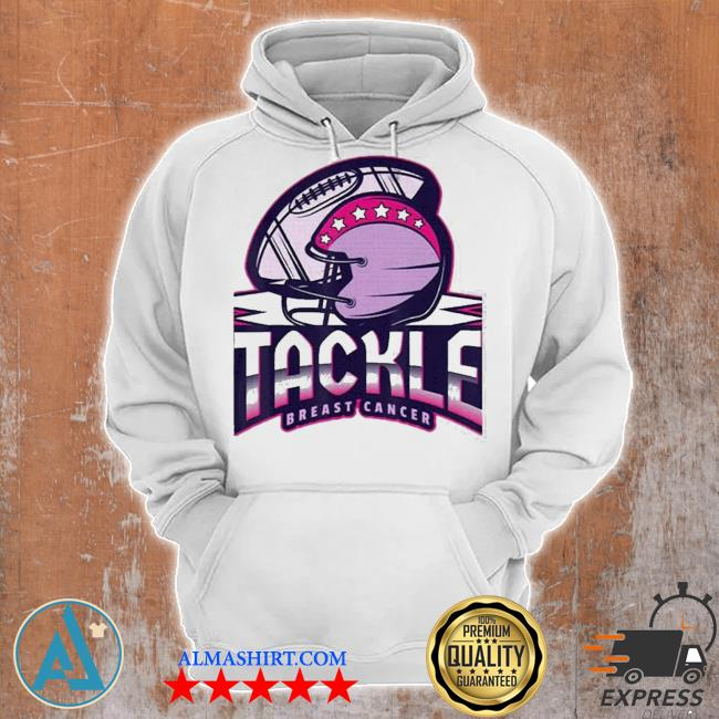 Tackle breast cancer awareness american football essential s Unisex Hoodie