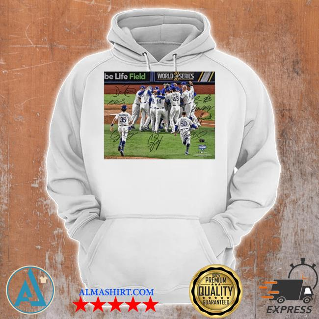 Team los angeles dodgers mlb world series champions 2020 s Unisex Hoodie