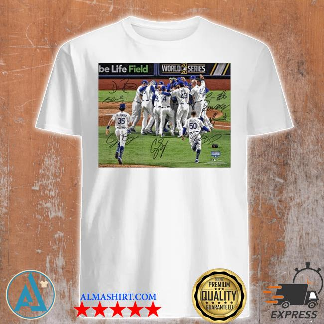 Team los angeles dodgers mlb world series champions 2020 shirt