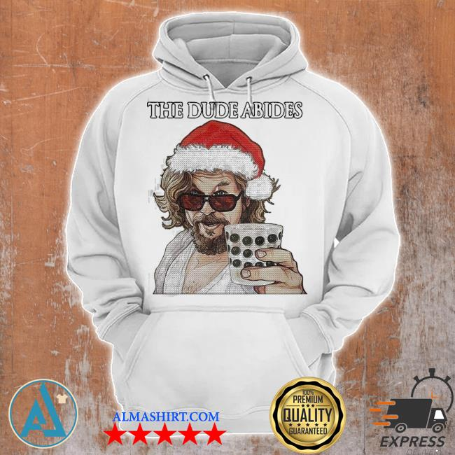 The big lebowski the dude abides ugly christmas s Unisex Hoodie
