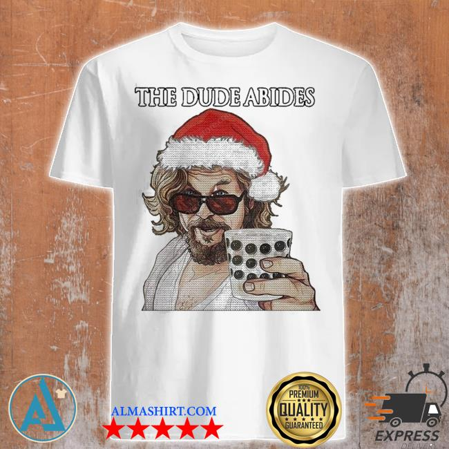 The big lebowski the dude abides ugly christmas shirt