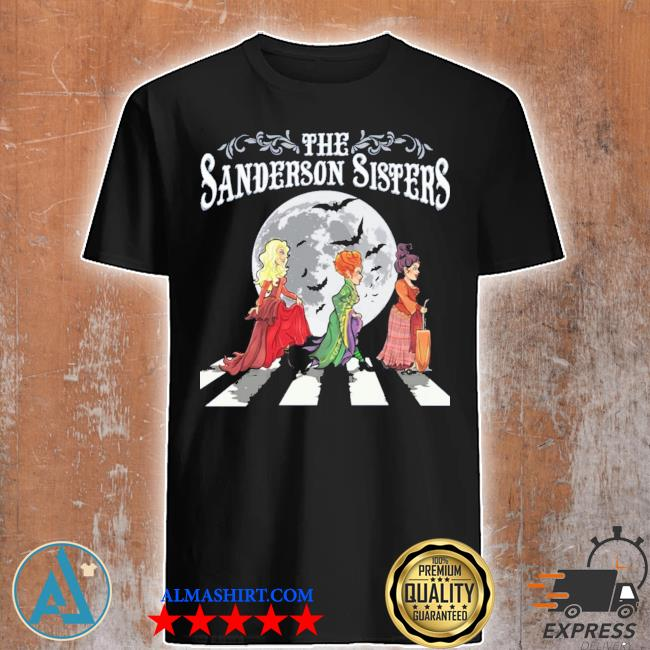 The sanderson sisters abbey road shirt
