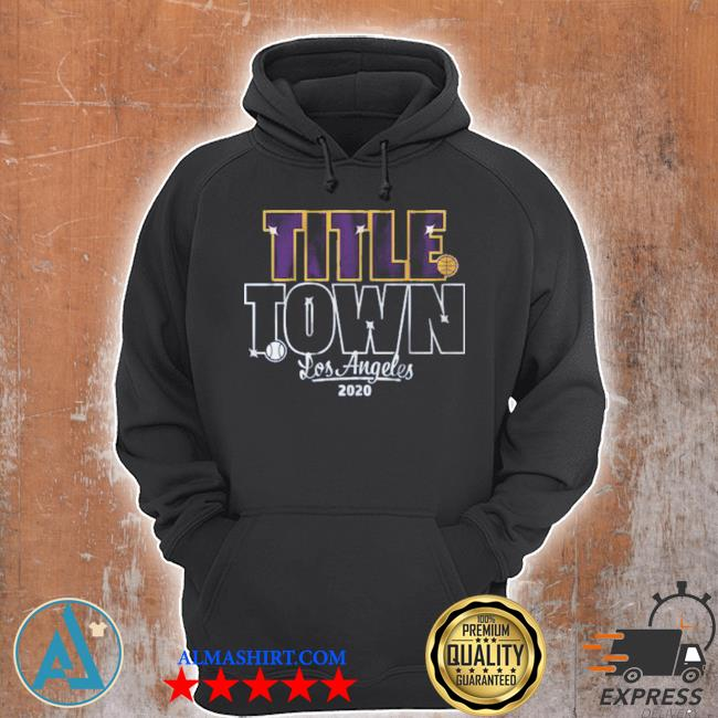Title town los angeles baseball s Unisex Hoodie