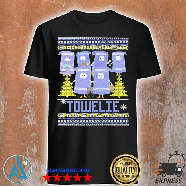Towelie ugly Christmas sweater
