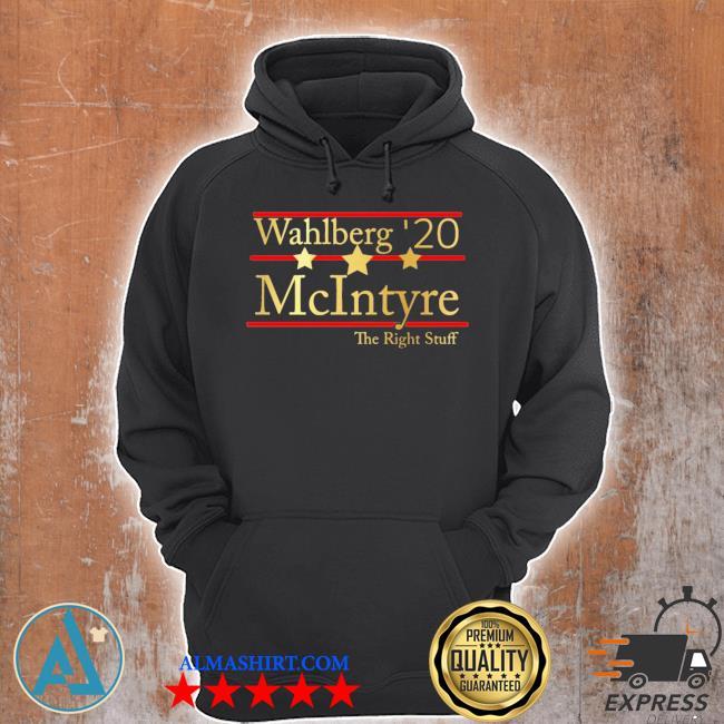 Wahlberg 2020 mcintyre the right stuff s Unisex Hoodie