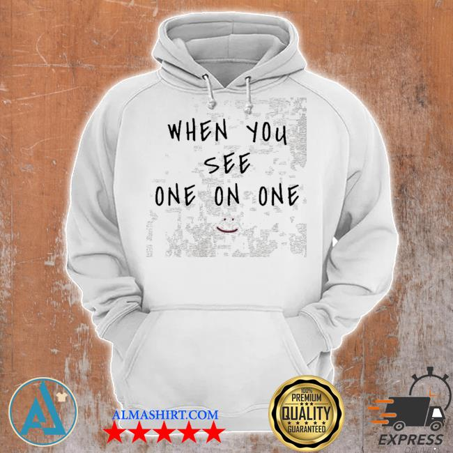 When you see one on one arizona football s Unisex Hoodie
