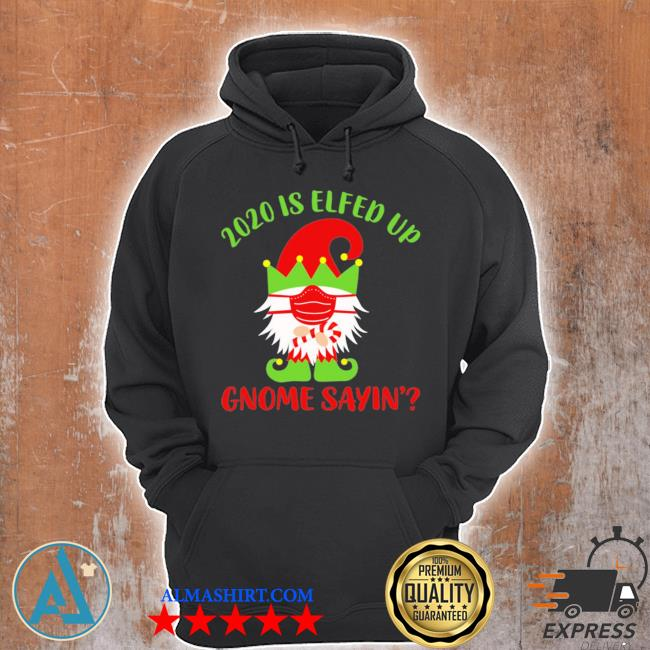 2020 is elfed up gnome sayin' sweater Unisex Hoodie