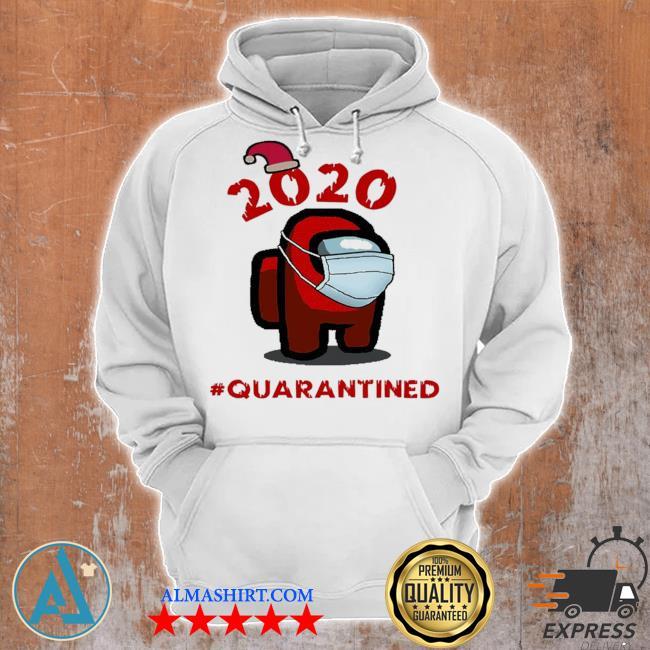 Among us christmas #quarantined face mask sweater Unisex Hoodie