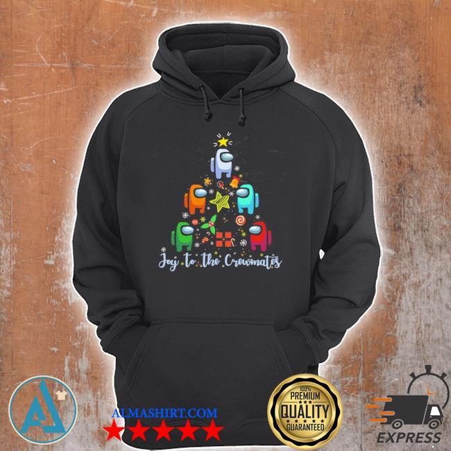 Among us christmas tree ugly sweater Unisex Hoodie