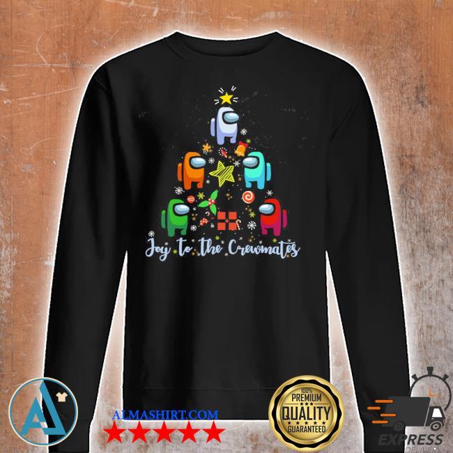 Among us christmas tree ugly sweater Unisex sweatshirt