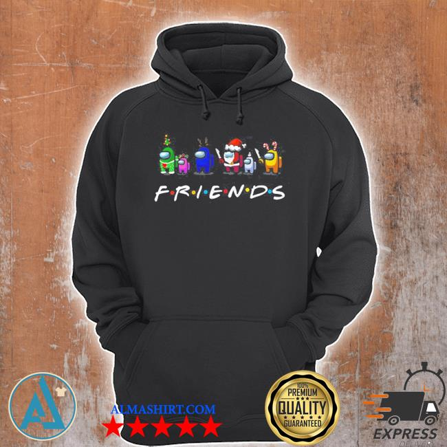 Among Us friends christmas sweater Unisex Hoodie
