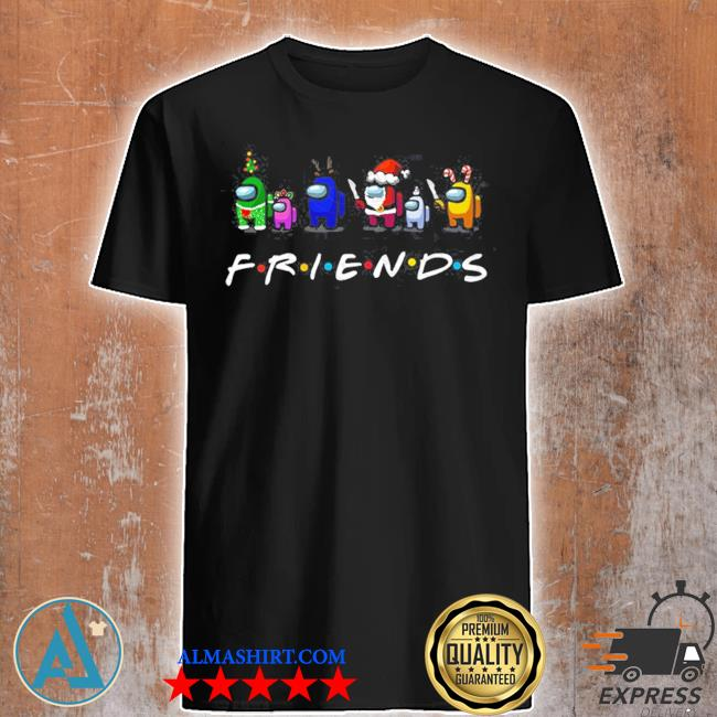 Among Us friends christmas sweater