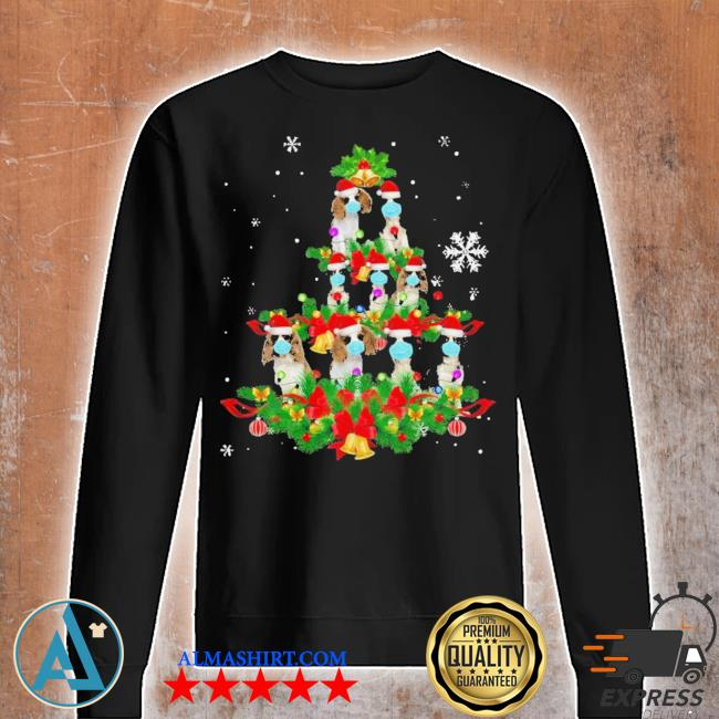 Cavalier king charles spaniel christmas tree ugly christmas sweater Unisex sweatshirt