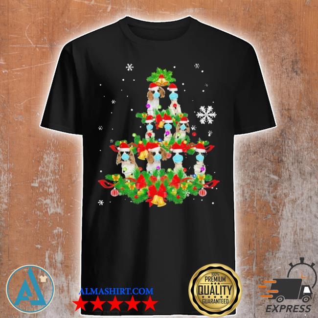 Cavalier king charles spaniel christmas tree ugly christmas sweater