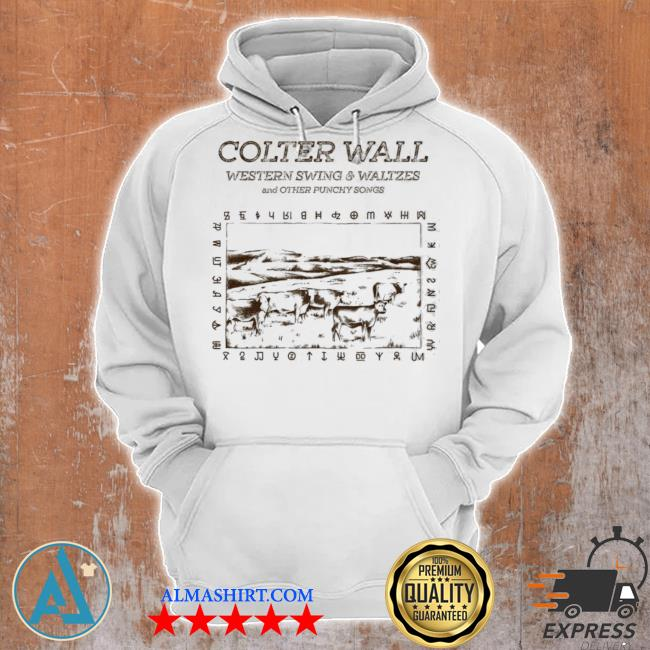 Colter wall releases western swing waltzes and other punchy songs s Unisex Hoodie