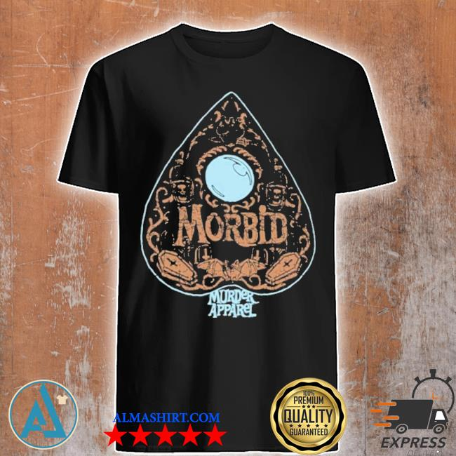 Distressed ouija board planchette shirt