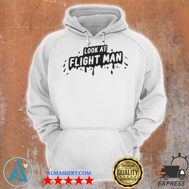 Flightreacts merch look at flight man s Unisex Hoodie