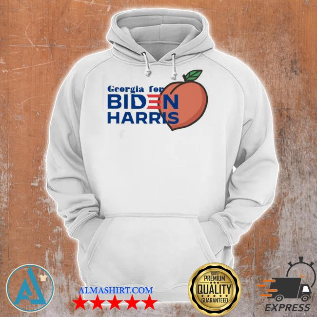 Georgia for biden harris peach s Unisex Hoodie
