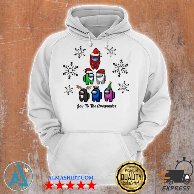 Joy to the crewmates among us christmas sweater Unisex Hoodie