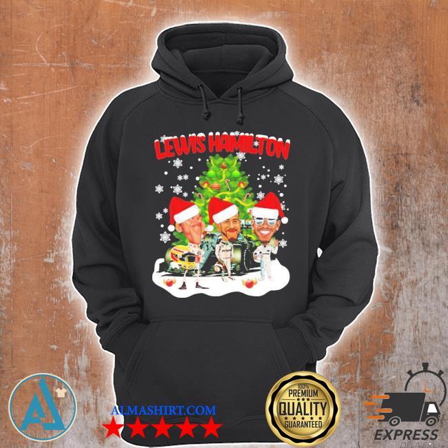 Lewis hamilton chibi Christmas tree sweater Unisex Hoodie