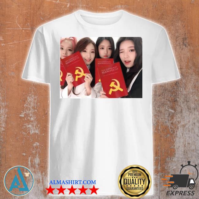 Loona girl group the communist manifesto shirt