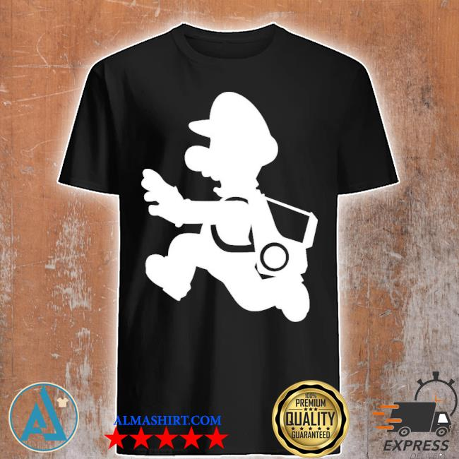 Marion glow in the dark polter pup shirt