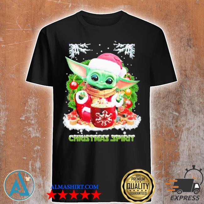 Merry christmas baby yoda spirit sweater