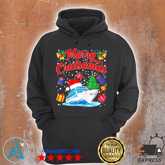 Merry cruisemas family cruise Christmas 2020 santa hat sweater Unisex Hoodie