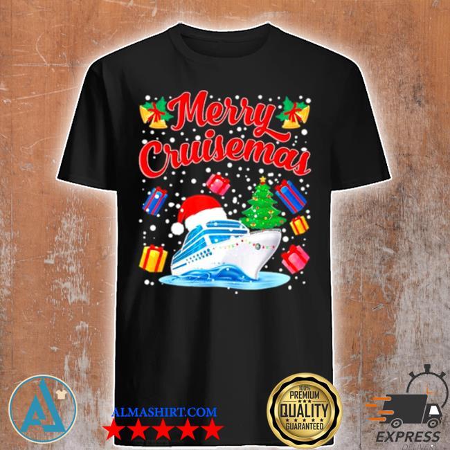 Merry cruisemas family cruise Christmas 2020 santa hat sweater