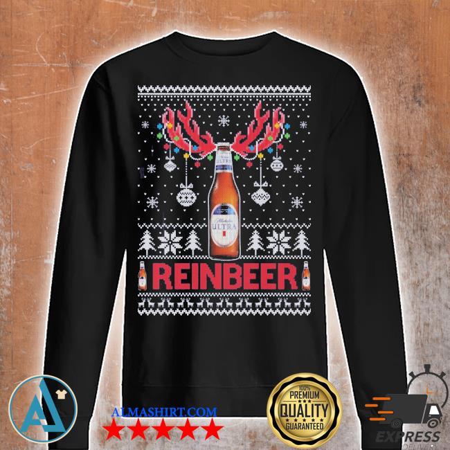 Michelob ultra ugly christmas sweater Unisex sweatshirt
