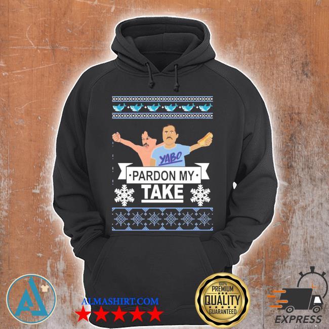 Pardon my take Christmas ugly sweater Unisex Hoodie