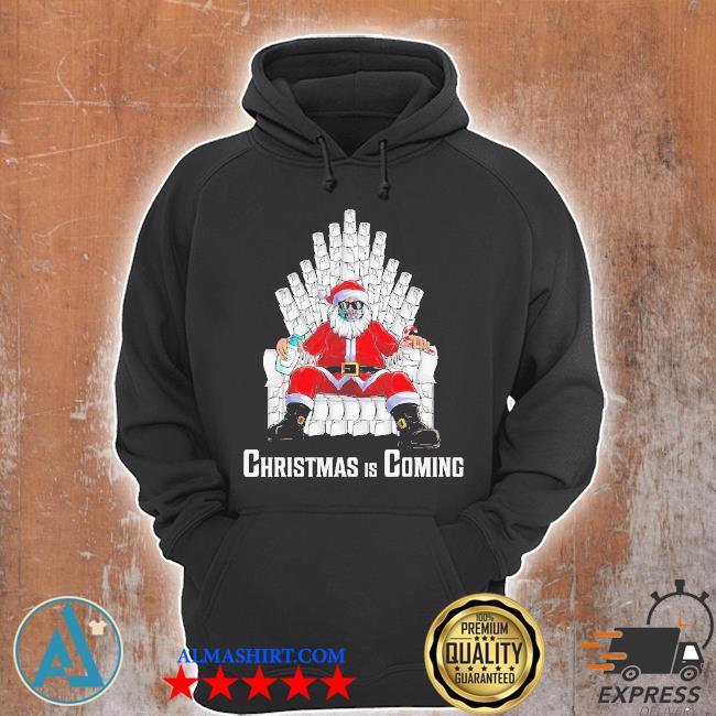 Santa king toilet paper quarantine Christmas sweater Unisex Hoodie