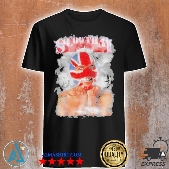 Slowthai merch tyron 12 deluxe lp homage shirt