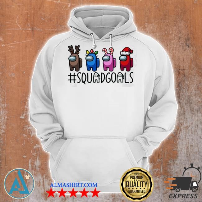 Squad goals among us christmas sweater Unisex Hoodie