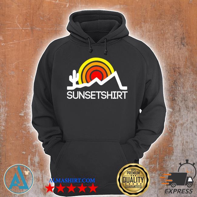 sunsetshirtlogo Unisex Hoodie