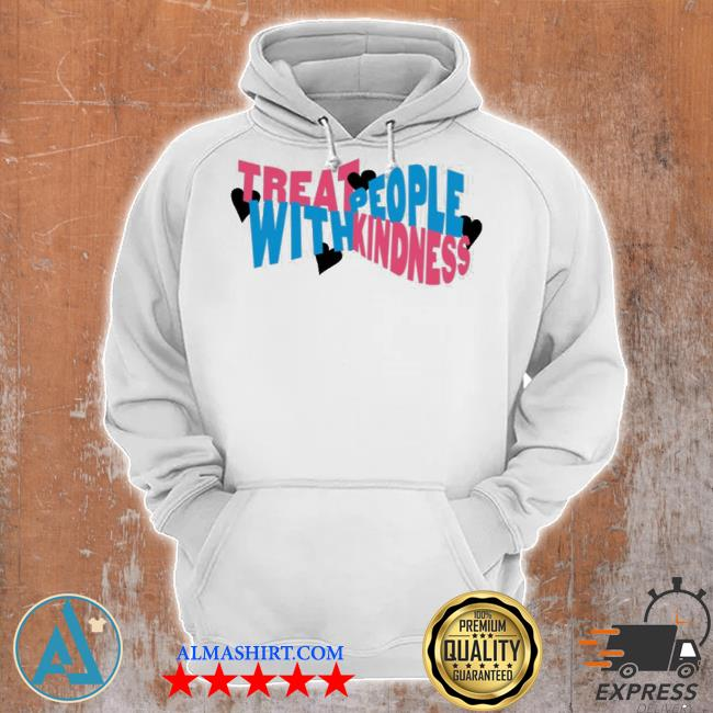 Treat people with kindness hearts hstyles merch s Unisex Hoodie