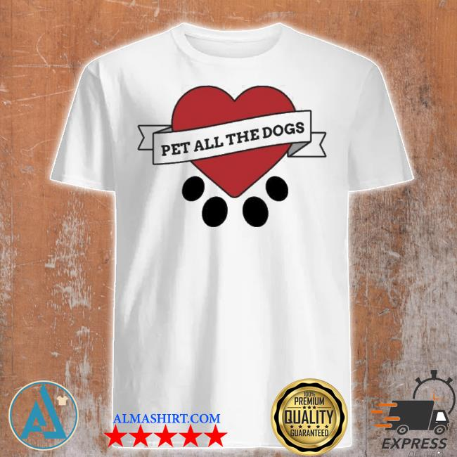 We rate dogs merch pet all the dogs shirt